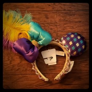 Mardi Gras Minnie Ears